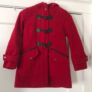 S. Rothschild Little Girls Double-Breasted Coat